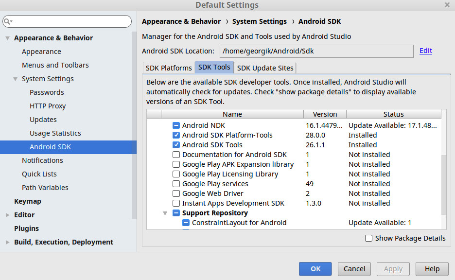 Android Studio NDK could not start mips64el-linux-android-strip
