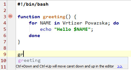 IntelliJ Idea support for Bash scripting