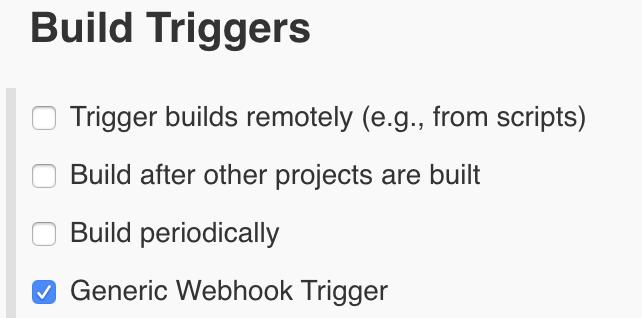 Jenkins Build Trigger